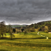 Buy canvas prints of Bolton Abbey and Yorkshire Dales by Juha Remes