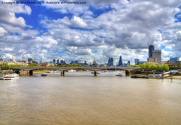 London Cityscape Canvas print by Juha Remes
