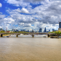 Buy canvas prints of London Cityscape by Juha Remes
