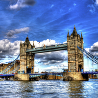 Buy canvas prints of Tower Bridge by Juha Remes