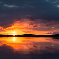 Buy canvas prints of Lapland Sunset by Juha Remes