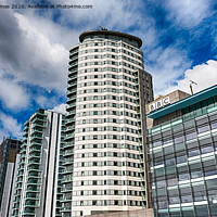 Buy canvas prints of MediaCityUK by Juha Remes