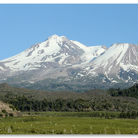 Buy canvas prints of Mount Shasta by Tawnya Apuan