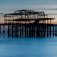 Buy canvas prints of West Pier Brighton by Wendy Williams