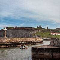 Buy canvas prints of Whitby Harbour from West Pier by Wendy Williams