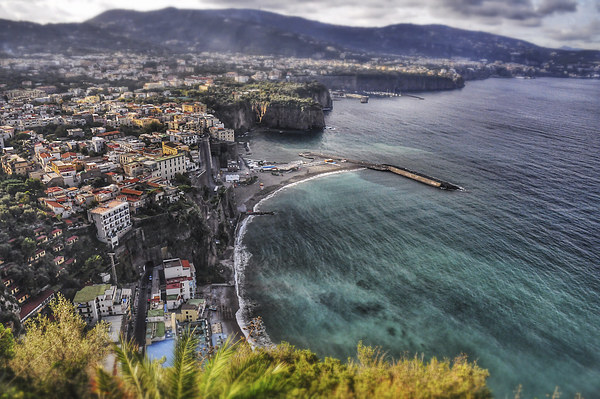 Sorrento View Canvas print by Scott Anderson