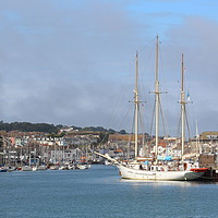Buy canvas prints of Weymouth Harbour by Stephen Cocking