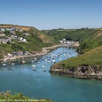 Buy canvas prints of Solva Harbour Pembrokeshire by Chris Warren