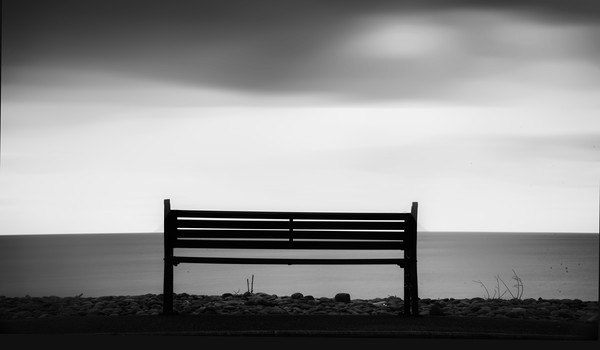 Bench Canvas print by Andrew chittock