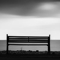 Buy canvas prints of Bench by Andrew chittock