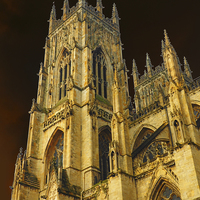 Buy canvas prints of York Minster by Victor Burnside