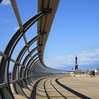 Buy canvas prints of Blackpool by Victor Burnside