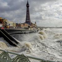 Buy canvas prints of Blackpoolstorm by Victor Burnside