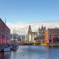 Buy canvas prints of Liverpool by Victor Burnside