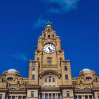 Buy canvas prints of Liver Building by Victor Burnside