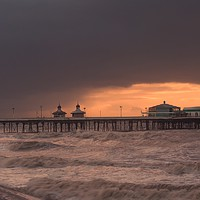Buy canvas prints of North  Pier by Victor Burnside