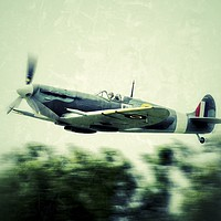 Buy canvas prints of Spitfire by Victor Burnside