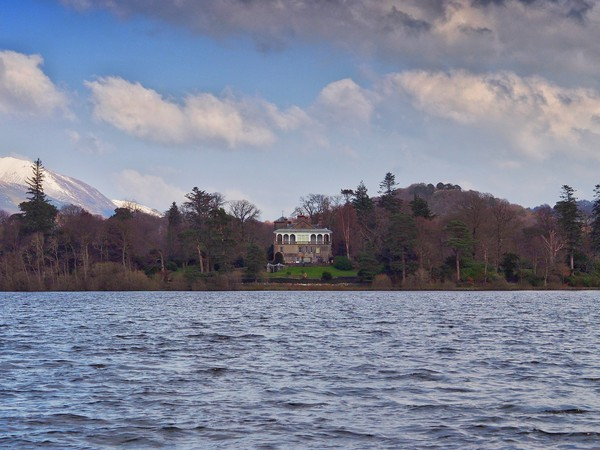 Derwentwater  Canvas Print by Victor Burnside