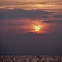 Buy canvas prints of Sunset                                             by Victor Burnside
