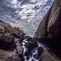 Buy canvas prints of Low Tide by Matthew Davis