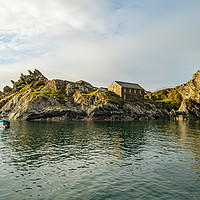 Buy canvas prints of Polperro Cornwall by Anthony Rigg