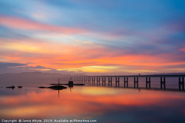 Dundee Sunrise  Canvas print by Jamie Whyte