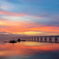 Buy canvas prints of Dundee Sunrise  by Jamie Whyte