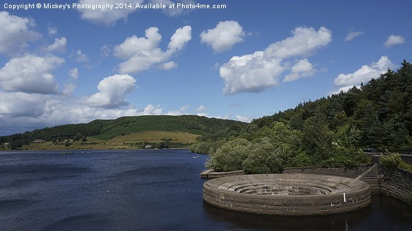 Ladybower Canvas print by Mickey's Photography