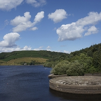 Buy canvas prints of  Ladybower by Mickey's Photography