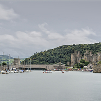Buy canvas prints of Conwy by Mickey