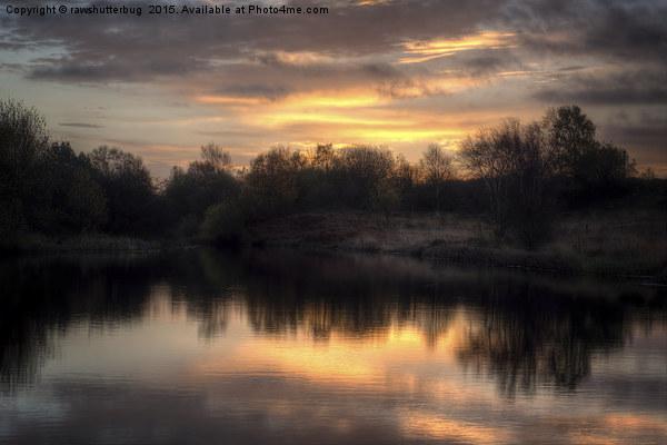 Chasewater Sunrise Canvas Print by rawshutterbug