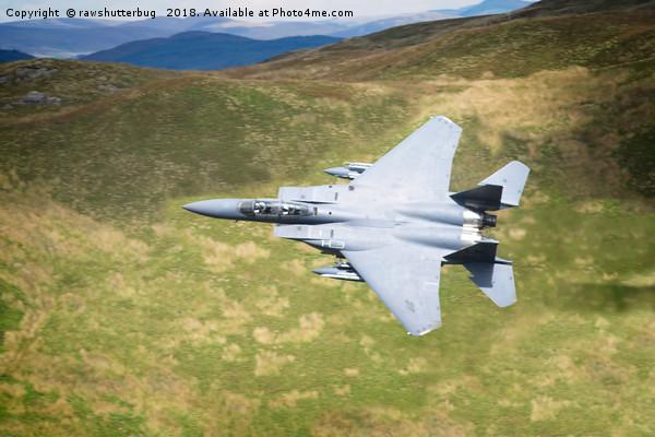 Low Flying F-15E Strike Eagle Canvas print by rawshutterbug