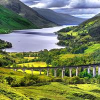 Buy canvas prints of  Glenfinnan Viaduct by Nigel Lee