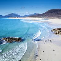 Buy canvas prints of Luskentyre Beach, Isle of Harris, Scotland. by Garry Smith