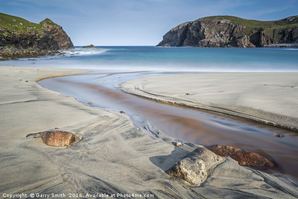 Dhail Beag, Isle of lewis. Framed Print by Garry Smith
