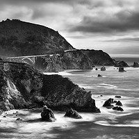 Buy canvas prints of Bixby Bridge, The Pacific Coast Highway, U.S.A by Garry Smith