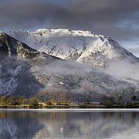 Buy canvas prints of Beinn Bhan, Ballachulish. by Garry Smith