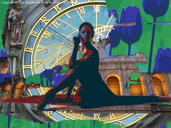 Tulip Time Canvas print by Ruta Naujokiene