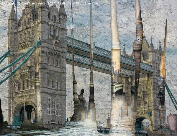 Revealing London Canvas Print by Ruta Naujokiene