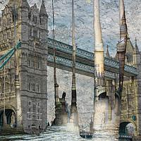 Buy canvas prints of Revealing London by Ruta Naujokiene