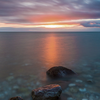 Buy canvas prints of  Touched By The Light by Tracey Yeo. Devon Photography