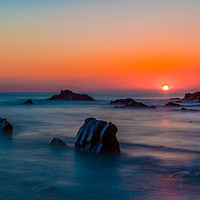 Buy canvas prints of Ghostly Sunset. by Tracey Yeo