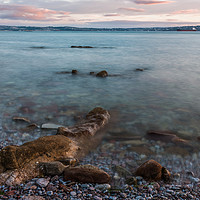 Buy canvas prints of A View Across Torbay. by Tracey Yeo