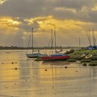 Buy canvas prints of Maldon Sunrise by Brian Fry