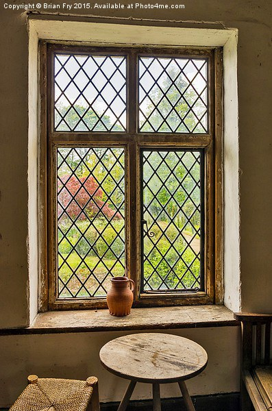 Window view Canvas print by Brian Fry
