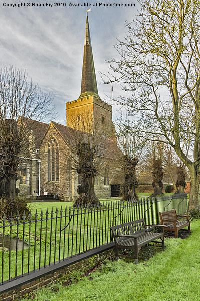 Church View Canvas print by Brian Fry