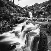 Buy canvas prints of Three Shires Head by Kevin Browne