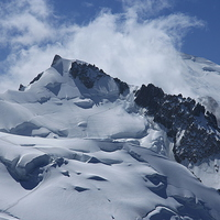 Buy canvas prints of Mont Blanc by Sarah Pymer