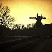 Buy canvas prints of Country Mill by Graham Beerling