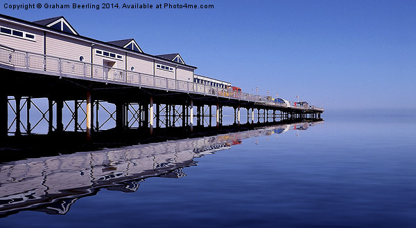 The Pier in Colour Canvas print by Graham Beerling